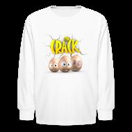 Kids' Shirts ~ Kids' Long Sleeve T-Shirt ~ The Crack - Kids long sleeve