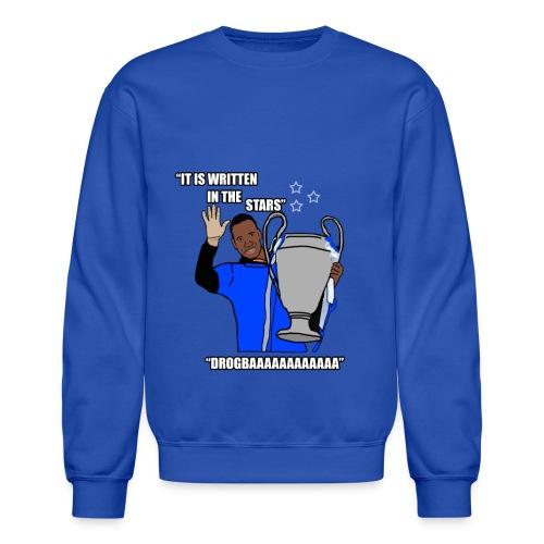 Drogbaaa - It Is Written In The Stars - Mens Long Sleeve-Shirt - Crewneck Sweatshirt