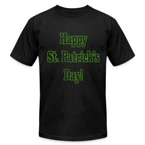 Happy St. Patricks Day - Men's T-Shirt by American Apparel