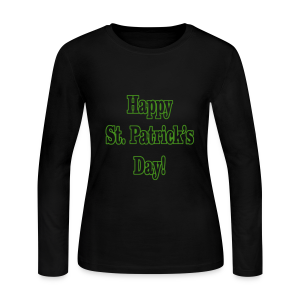 Happy St. Patricks Day - Women's Long Sleeve Jersey T-Shirt