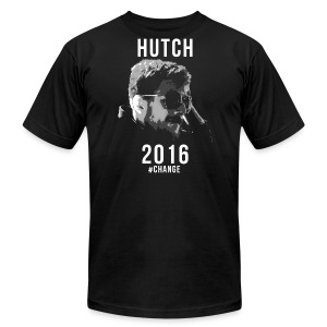 Hutch 2016 Slim Fit Shirt - Men's T-Shirt by American Apparel
