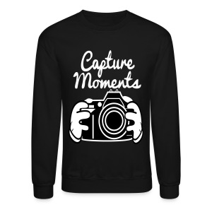 Capture Moments - Crewneck Sweatshirt