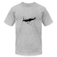 T-Shirts ~ Men's T-Shirt by American Apparel ~ spitfire black
