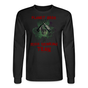 Planet Beer Irish Drinking Team Men's Long Sleeve T-Shirt - Men's Long Sleeve T-Shirt