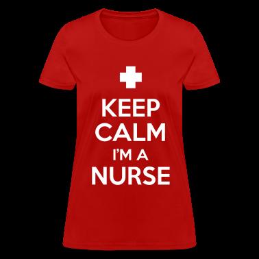keep calm i'm a nurse