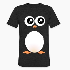 Cute Black Penguin T-Shirts