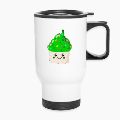 St Patrick's Day Cute Cupcake Bottles & Mugs