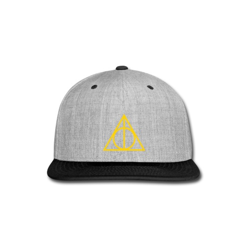 Hipster Geometry - Snap-back Baseball Cap