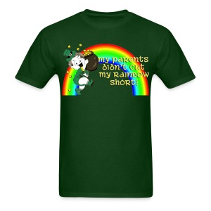 Didn't Cut My Rainbow Short - Men's T-Shirt