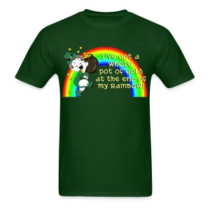 Whole Pot of Gold! [2 Sides / Text Change Available] - Men's T-Shirt