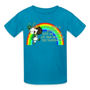 Whole Pot of Gold! [2 Sides / Text Change Available] - Kids' T-Shirt