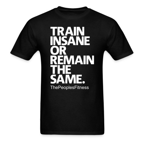 Mens - Train insane - Men's T-Shirt