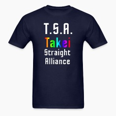 George Takei Straight Alliance - mp T-Shirts