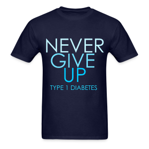 The Inspire Collection - Never Give Up - Men's T-Shirt