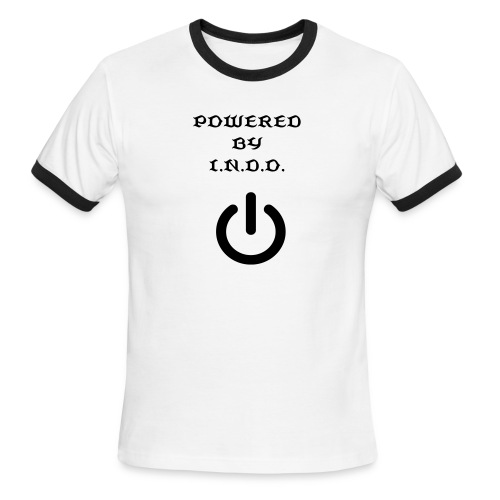 POWERED BY INDO - Men's Ringer T-Shirt