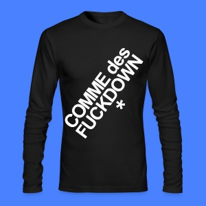 Comme Des Fuckdown Long Sleeve Shirts - Men's Long Sleeve T-Shirt by Next Level