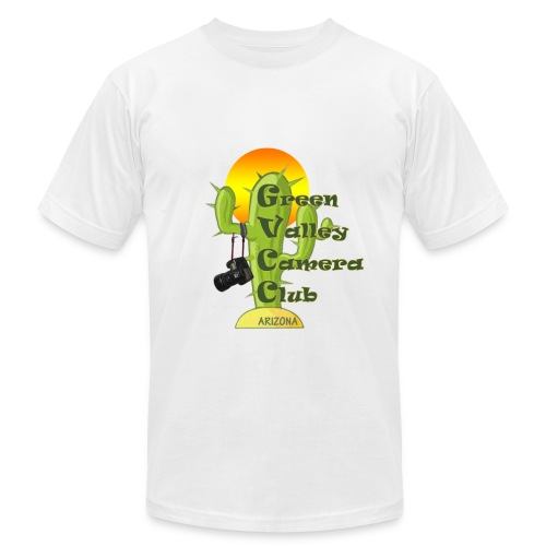 GVCC Logo for Silkscreen.png - Men's T-Shirt by American Apparel