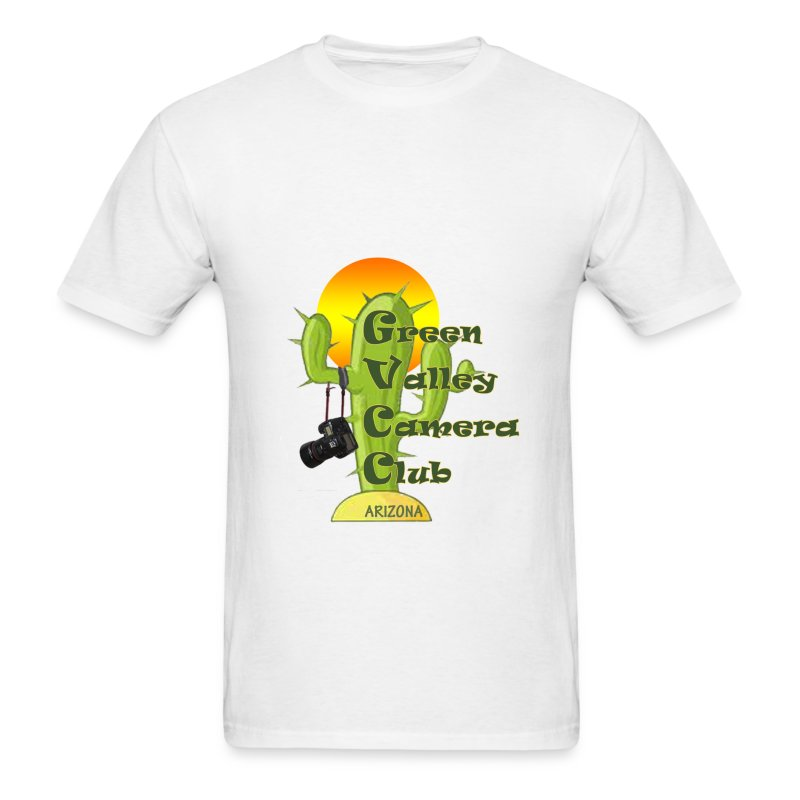 GVCC Logo for Silkscreen.png - Men's T-Shirt