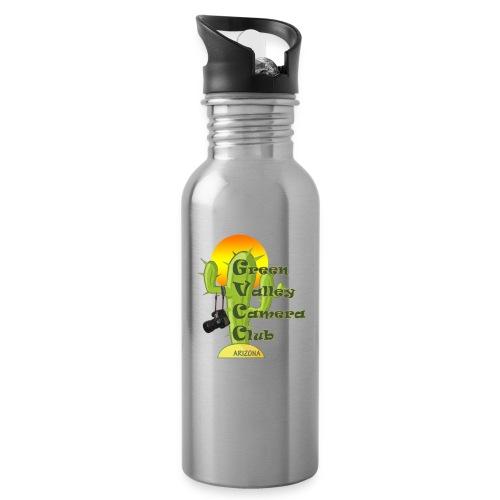 GVCC Logo for Silkscreen.png - Water Bottle