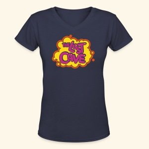 The Lost Cave - Women's V-Neck T-Shirt