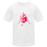 T-Shirts ~ Men's T-Shirt by American Apparel ~ apollo red