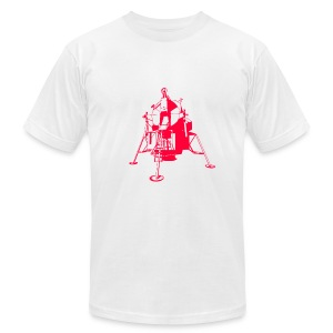 apollo red - Men's T-Shirt by American Apparel