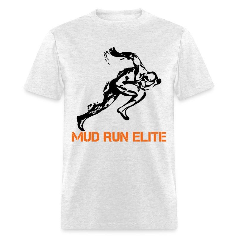 mud run elite runner t shirt spreadshirt
