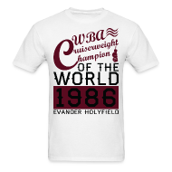T-Shirts ~ Men's T-Shirt ~ 1986 WBA Cruiserweight Champion