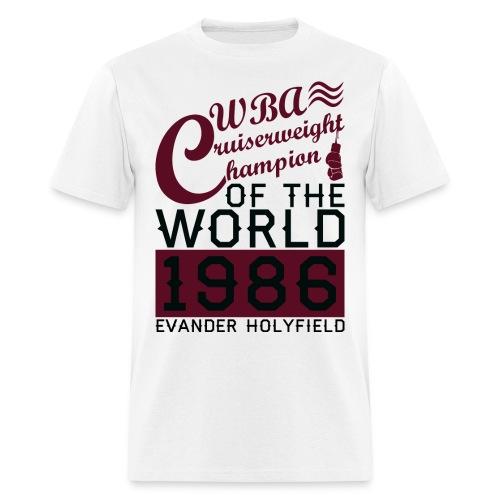 1986 WBA Cruiserweight Champion - Men's T-Shirt