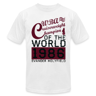 T-Shirts ~ Men's T-Shirt by American Apparel ~ 1986 WBA Cruiserweight Champion