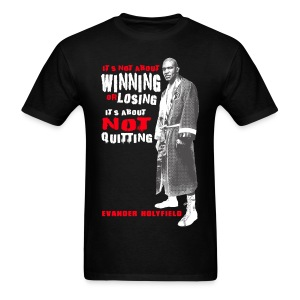 NO QUIT - Men's T-Shirt
