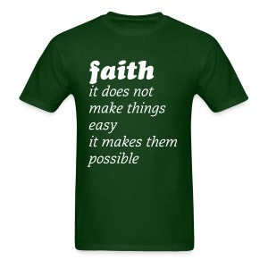 faith - Men's T-Shirt