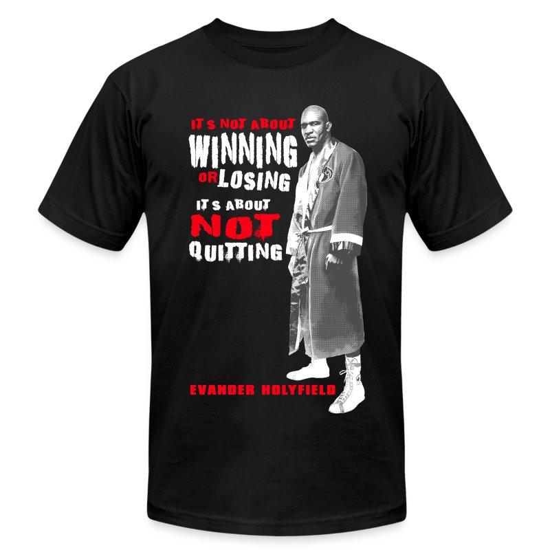 NO QUIT - Men's Fine Jersey T-Shirt