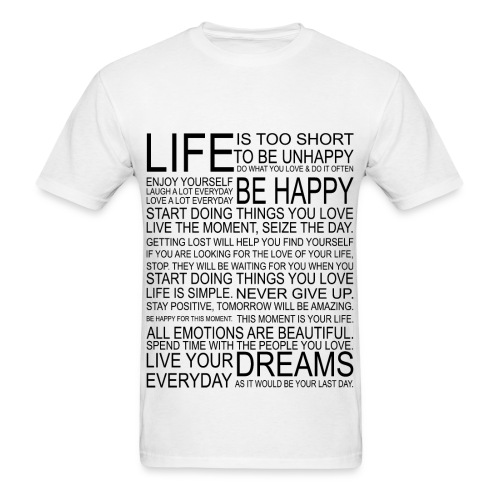 Mens Clothing Life - Men's T-Shirt