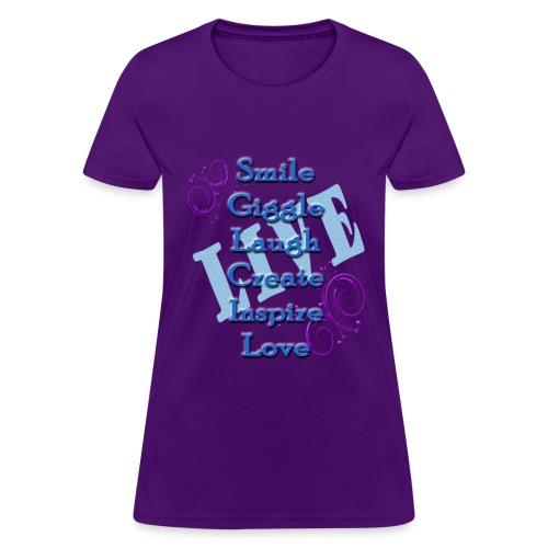 Live tshirt - Women's T-Shirt