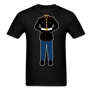marine black - Men's T-Shirt
