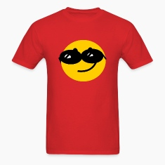 Flirty Cool Smiley face with sunglasses T-Shirts