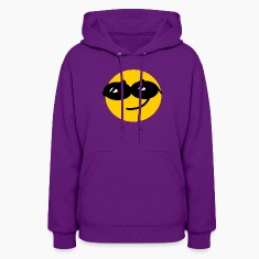 Flirty Cool Smiley face with sunglasses Hoodies