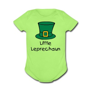 Little Leprechaun Baby One-Piece - Short Sleeve Baby Bodysuit