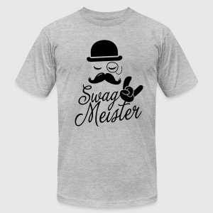 Like a swag style i love swag meister boss meme T-Shirts - Men's T-Shirt by American Apparel