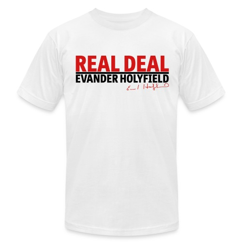 Real Deal - Men's T-Shirt by American Apparel