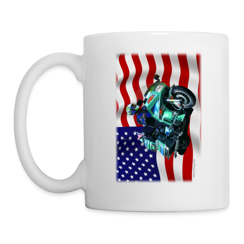 USA Flag Voy Mug Two Sides - Coffee/Tea Mug