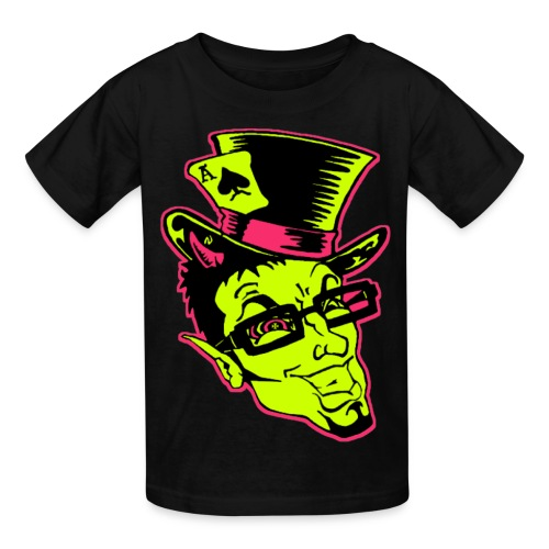 Kidz Finz Face - Kids' T-Shirt