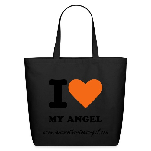 I Love My Angel Tote - Eco-Friendly Cotton Tote
