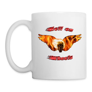 Hell on Wheels Mug One Side - Coffee/Tea Mug