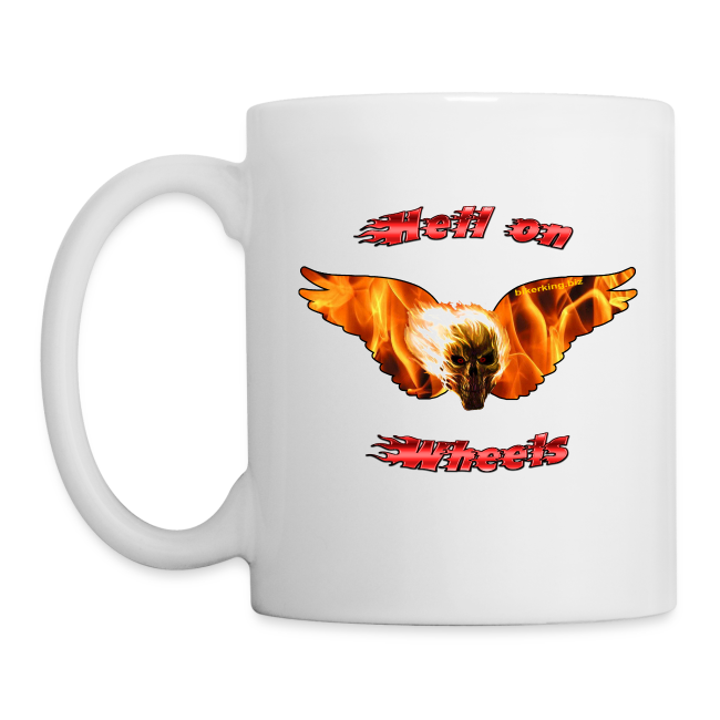 Hell on Wheels Mug One Side
