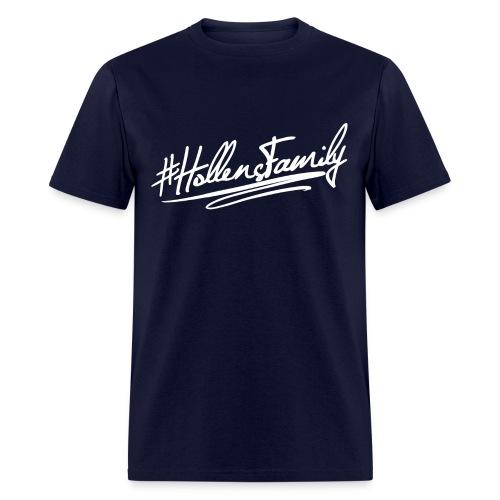 #Hollensfamily White! - Men's T-Shirt