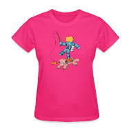 Women's T-Shirts ~ Women's T-Shirt ~ Women's T-Shirt: Carrot on a Stick