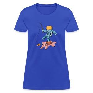 Women's T-Shirt: Carrot on a Stick - Women's T-Shirt