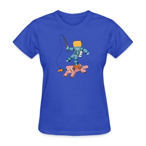 Women's T-Shirt: Carrot on a Stick - Women's T-Shirt